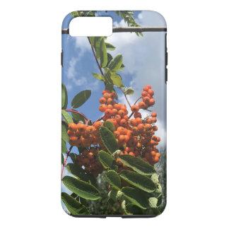 Funda Para iPhone 8 Plus/7 Plus Árbol de serbal con las bayas