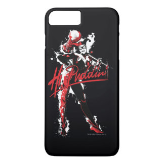 "Funda Para iPhone 8 Plus/7 Plus Arte de la tinta del Puddin'"" de Batman el  "