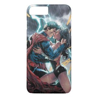 Funda Para iPhone 8 Plus/7 Plus Arte promocional cómico del superhombre/de la