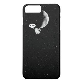 Funda Para iPhone 8 Plus/7 Plus Astronauta divertido y la luna