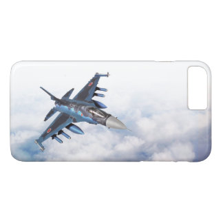 "Funda Para iPhone 8 Plus/7 Plus Aviation Art Device Cass  ""Mitsubishi F-2"""
