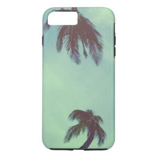 Funda Para iPhone 8 Plus/7 Plus Azules de la palmera
