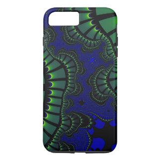 Funda Para iPhone 8 Plus/7 Plus Azulverde remezcle la caja del iPhone