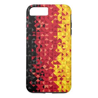 Funda Para iPhone 8 Plus/7 Plus Bandera abstracta de Alemania, colores alemanes,