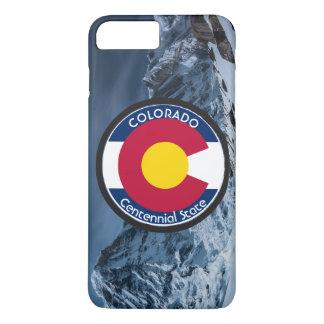 Funda Para iPhone 8 Plus/7 Plus Bandera de la circular de Colorado