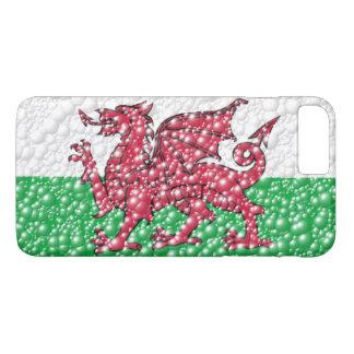 Funda Para iPhone 8 Plus/7 Plus Bandera de la textura de la burbuja del dragón