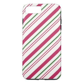 Funda Para iPhone 8 Plus/7 Plus Bastón de caramelo del navidad