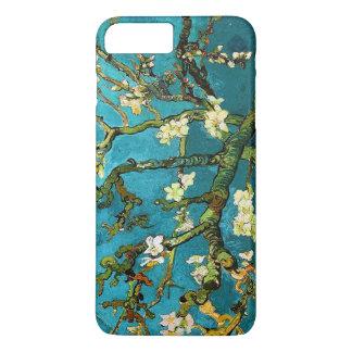 Funda Para iPhone 8 Plus/7 Plus Bella arte floreciente del árbol de almendra de