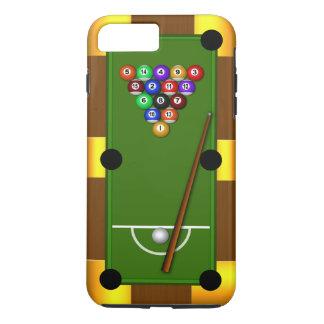 Funda Para iPhone 8 Plus/7 Plus Billares de hombres frescos de la bola de la mesa