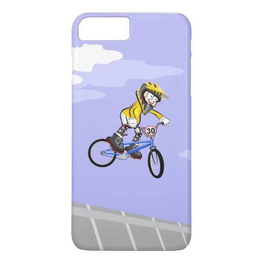 Funda Para iPhone 8 Plus/7 Plus BMX espectacular salto de un niño en su bicicleta