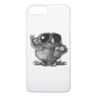 Funda Para iPhone 8 Plus/7 Plus Búho fresco animal divertido