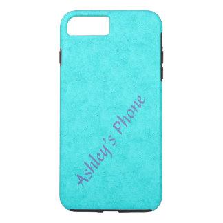 Funda Para iPhone 8 Plus/7 Plus Caja adaptable del teléfono -- Azul del huevo del