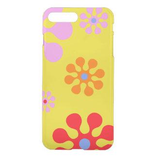 Funda Para iPhone 8 Plus/7 Plus Caja amarilla del teléfono de las flores