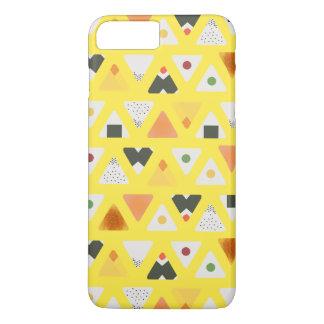 Funda Para iPhone 8 Plus/7 Plus Caja amarilla del teléfono de ONIGIRI