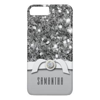 Funda Para iPhone 8 Plus/7 Plus Caja atractiva del confeti del brillo del diamante
