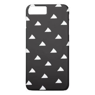 Funda Para iPhone 8 Plus/7 Plus Caja blanco y negro del teléfono de la MOD de los