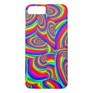 Funda Para iPhone 8 Plus/7 Plus Caja cúbica del teléfono del arco iris