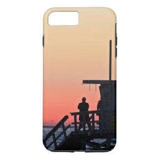 Funda Para iPhone 8 Plus/7 Plus Caja de la playa de la estación del salvavidas de