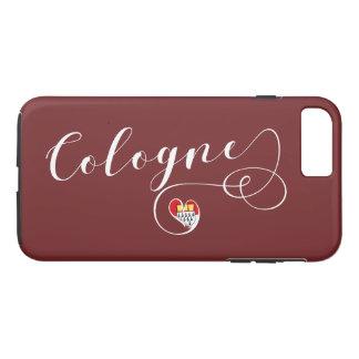 Funda Para iPhone 8 Plus/7 Plus Caja del teléfono celular de Colonia del corazón,