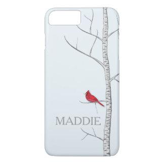 Funda Para iPhone 8 Plus/7 Plus Caja del teléfono celular del árbol de abedul del