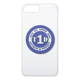 Funda Para iPhone 8 Plus/7 Plus Caja del teléfono de la diabetes del tipo 1 de la