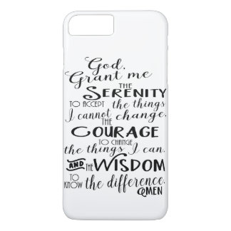 Funda Para iPhone 8 Plus/7 Plus Caja del teléfono de la fe del rezo de la
