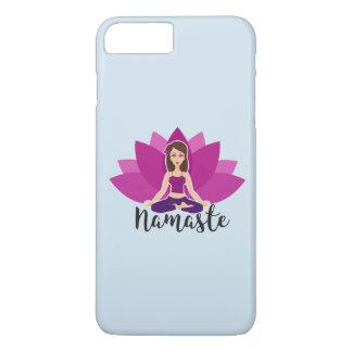 Funda Para iPhone 8 Plus/7 Plus Caja del teléfono de la yoga de Namaste