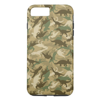 Funda Para iPhone 8 Plus/7 Plus Caja del teléfono del dinosaurio de Camo