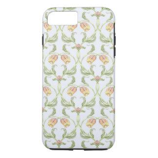 Funda Para iPhone 8 Plus/7 Plus Caja del teléfono del enrejado del tulipán