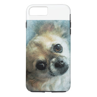 Funda Para iPhone 8 Plus/7 Plus Caja dura del teléfono de la chihuahua
