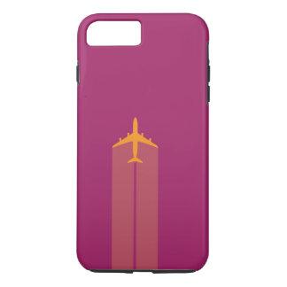 Funda Para iPhone 8 Plus/7 Plus Caja dura del teléfono de los aviones de jet