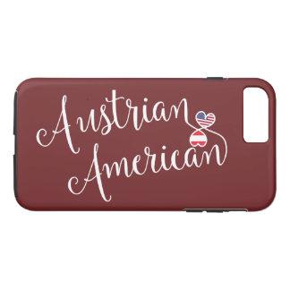 Funda Para iPhone 8 Plus/7 Plus Caja entrelazada americano austríaco del teléfono