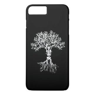Funda Para iPhone 8 Plus/7 Plus Caja esquelética del teléfono de la impresión del