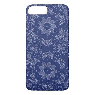 Funda Para iPhone 8 Plus/7 Plus Caja floral azul del iphone