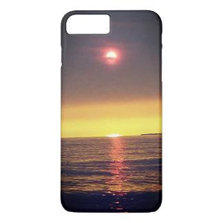 Funda Para iPhone 8 Plus/7 Plus Caja nebulosa del teléfono de la puesta del sol