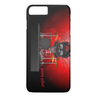Funda Para iPhone 8 Plus/7 Plus caja roja/negra original del iphone del avatar