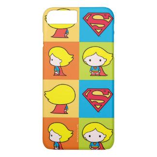 Funda Para iPhone 8 Plus/7 Plus Cambio del carácter de Chibi Supergirl
