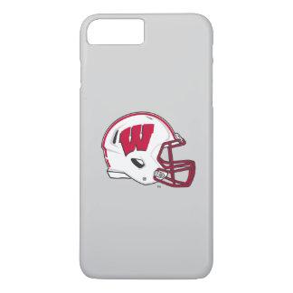 Funda Para iPhone 8 Plus/7 Plus Casco de fútbol americano de Wisconsin el |