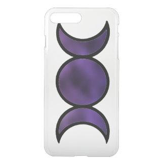 Funda Para iPhone 8 Plus/7 Plus Caso claro más del iPhone 7 púrpuras de la diosa