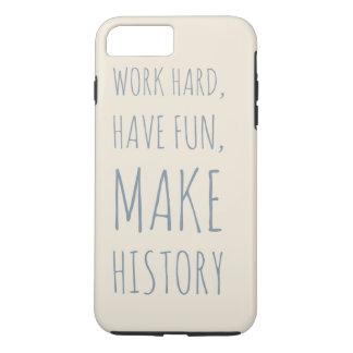 Funda Para iPhone 8 Plus/7 Plus Caso de Iphone 7   - cita de motivación -
