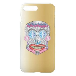 Funda Para iPhone 8 Plus/7 Plus Caso de Iphone del cráneo del caramelo del brote