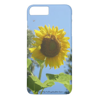 Funda Para iPhone 8 Plus/7 Plus caso de iPhone/iPad, girasol brillante