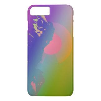 Funda Para iPhone 8 Plus/7 Plus Caso de la puesta del sol de la montaña de