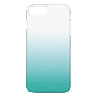 FUNDA PARA iPhone 8 PLUS/7 PLUS CASO DE OMBRE IPHONE - TURQUESA COLORWAY