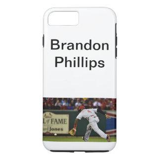 Funda Para iPhone 8 Plus/7 Plus Caso del béisbol de Brandon Phillips