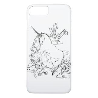 Funda Para iPhone 8 Plus/7 Plus Caso del iPhone 7 del unicornio