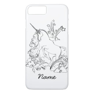 Funda Para iPhone 8 Plus/7 Plus Caso del iPhone 7 del unicornio