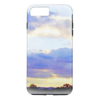 Funda Para iPhone 8 Plus/7 Plus Caso del iPhone de Skyscape del elemento del AIRE