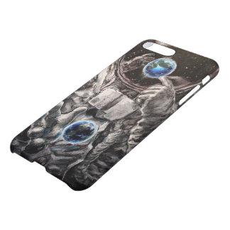 Funda Para iPhone 8 Plus/7 Plus Caso del iPhone del astronauta