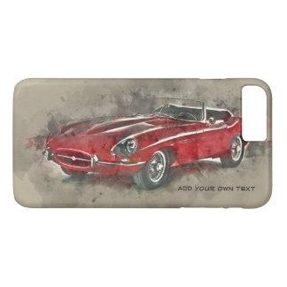 Funda Para iPhone 8 Plus/7 Plus Caso del iPhone del coche del vintage. iPhone 4S,